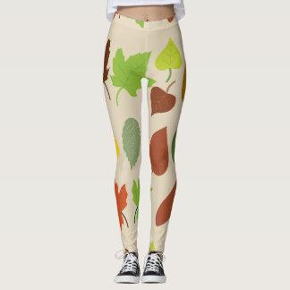 Nature theme leggings