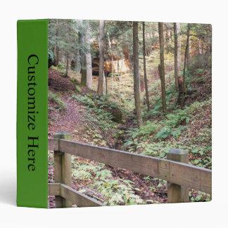Nature Trail Walking Path  EZD™ Ring Avery Binder