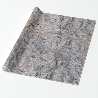 Nature Tree Bark Photo Wrapping Paper