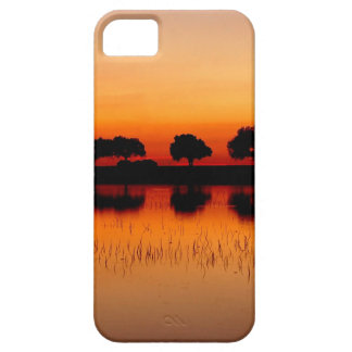 Nature Trees Red Row Reflected iPhone 5 Case
