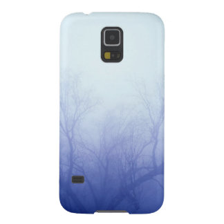 Nature Trees Winter Blue Cases For Galaxy S5