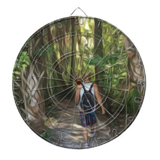 Nature Trippin Dartboard