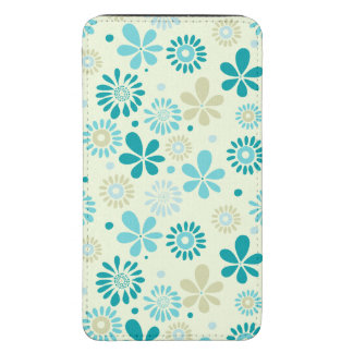 Nature Turquoise Abstract Sunshine Floral Pattern Galaxy S5 Pouch
