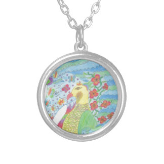 Nature Unicorn Silver Plated Necklace