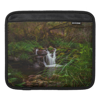 Nature Waterfalls Woodlands Scene iPad Sleeve