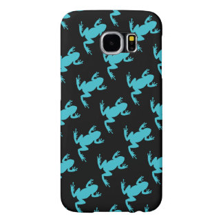 Nature Wildlife Frog Pattern Samsung Galaxy S6 Cases