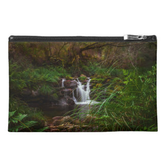 Nature Woodlands Waterfalls Scene Accessory Bag