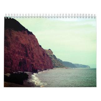 NaturePhotoTwo Page, Medium, White Calendar