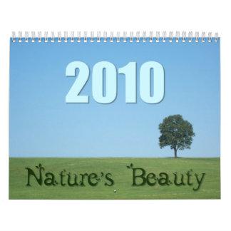 Nature's Beaty 2010 Calendar