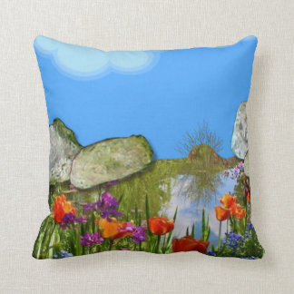 Nature's Beauty. Throw Pillow