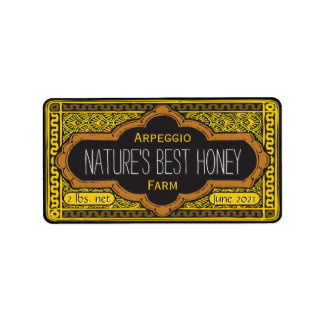 Natures Best Honey Jar Personalized