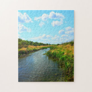 Natures Best - Prairie Creek in Summer Puzzle