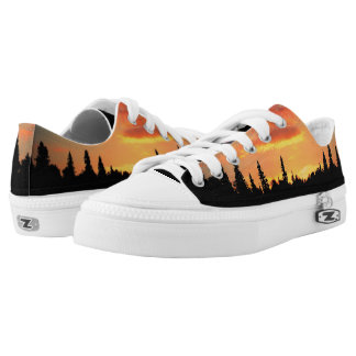 Natures Best - Walking on a Sunset Low-Top Sneakers