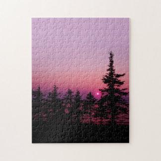 Natures Best - Waskesiu Sunset Puzzle