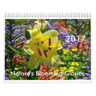 Nature's Blooming Glories 2017 Calendar