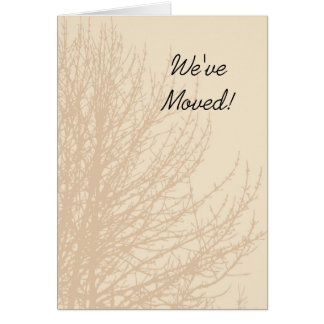 Nature's Branches Change of Address Announcement