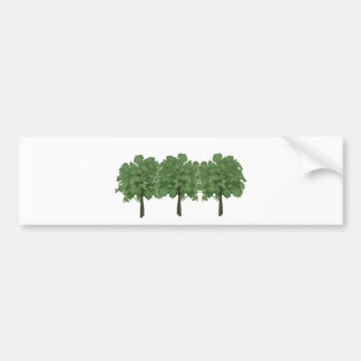 Natures Brush Bumper Sticker