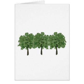 Natures Brush Card