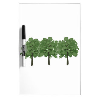 Natures Brush Dry Erase Board