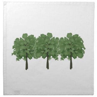Natures Brush Napkin