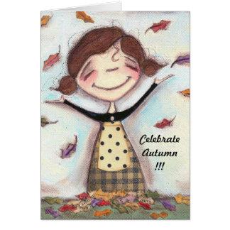 Nature's Confetti - Greeting Card