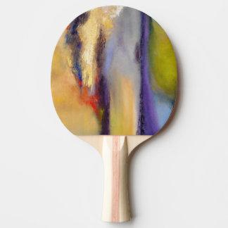 Nature's Dichotomy Abstract Ping Pong Paddles
