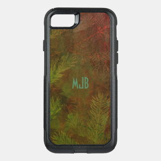 NATURES EVERGREEN CUSTOMIZABLE by Slipperywindow OtterBox Commuter iPhone 8/7 Case