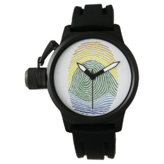 Nature's fingerprint watch