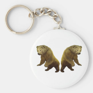 Natures Gifts Basic Round Button Keychain