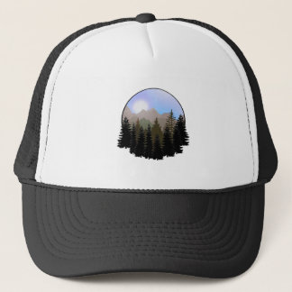 Nature's Globe Trucker Hat