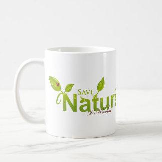 Nature's Grace with Ladybug Coffee Mug
