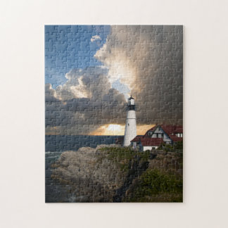 Nature's Lighthouse 11x14 Jigsaw Puzzle