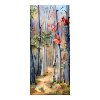 Natures Path Cardinal Bookmark Rack Card Template