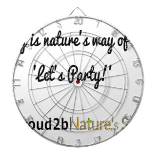 Nature's Soldiers Slogan 1 Dartboard