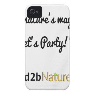 Nature's Soldiers Slogan 1 iPhone 4 Case-Mate Cases