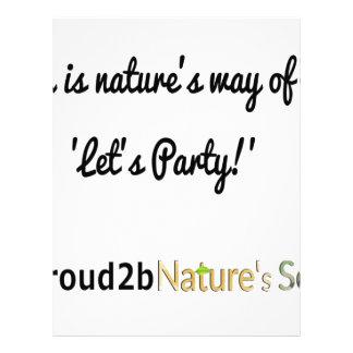 Nature's Soldiers Slogan 1 Letterhead