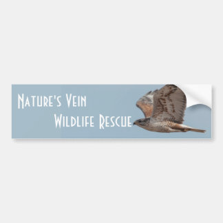 Nature's Vein Ferruginous bumper sticker