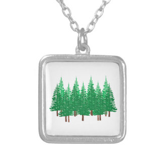 Nature's Wonderland Silver Plated Necklace