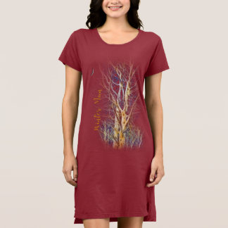 Naturewear's Midnight Moon T-Shirt Dress