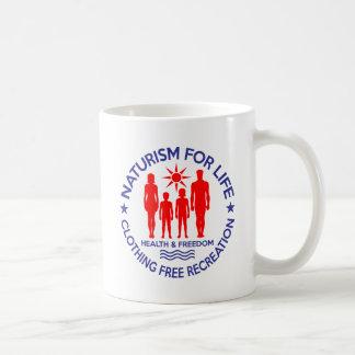 Naturist - Naturism For Life Coffee Mug