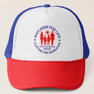 Naturist - Naturism For Life Trucker Hat