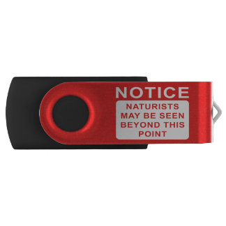 Naturist Swivel USB 2.0 Flash Drive