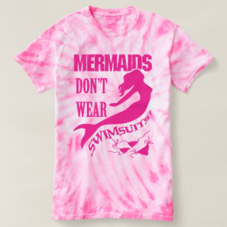Naturists/Nudists - Pink Mermaid t-shirt