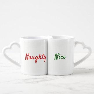 Naughty And Nice Couples Mugs
