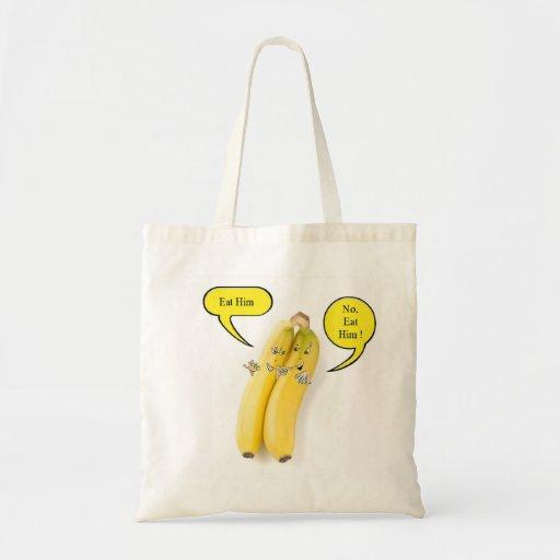 Naughty Banana Canvas Bags
