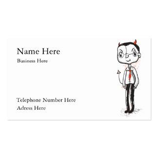 Naughty Businessman card Business Card