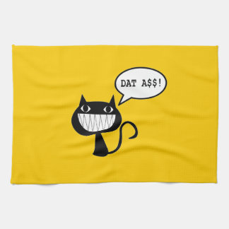 Naughty Cat Kitchen Towel