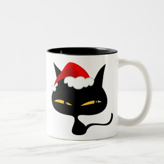 Naughty Christmas Kitty Mug