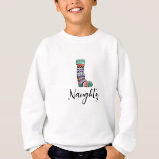 Naughty Christmas Shirt - Stocking
