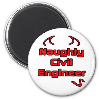 Naughty Civil Engineer Magnet